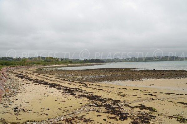 Photo de la plage de Raluzet à Plougrescant