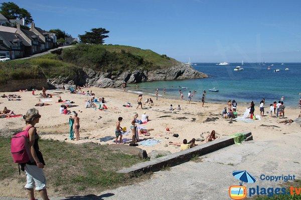 Photo de la plage du Ramonet à Le Palais - Belle Ile en Mer