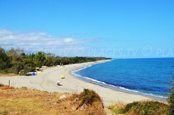 Photo of Ranch beach in Linguizzetta in Corsica