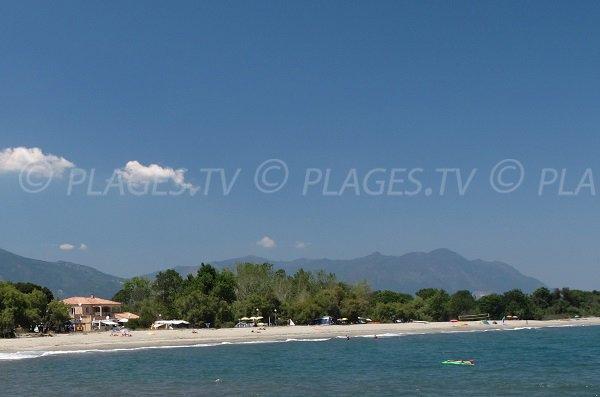Photo of Ranch beach in Linguizzetta - Corsica