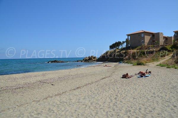 Marina of Bravone and the beach - Corsica