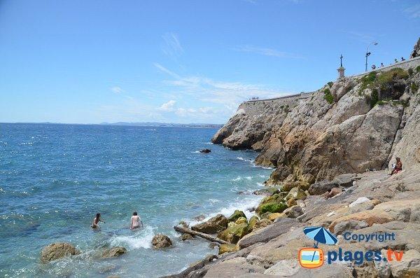 Accès à la mer - Rauba Capeu