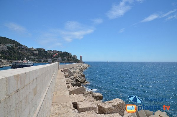 East part of the beach Rauba Capeu