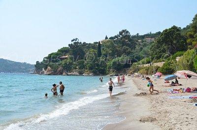Spiaggia di Rayol-Canadel (Francia, Var)