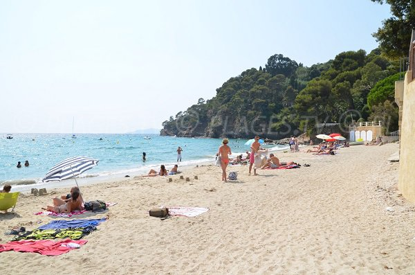 Public beach of Rayol (France - Rayol-Canadel)