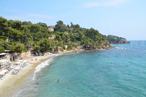 Beach Rayol - left area