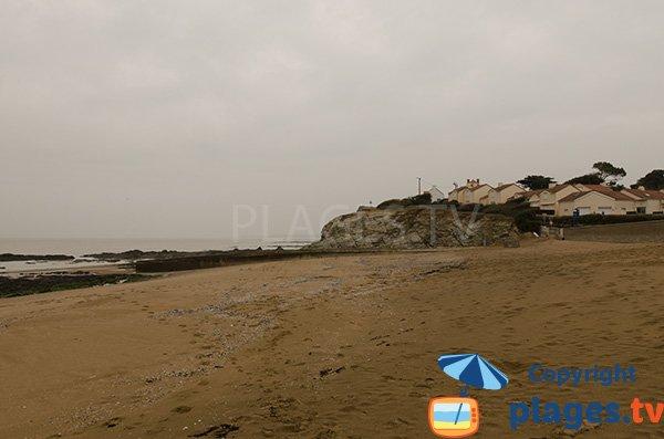 Photo de la plage du Redois à St Michel Chef Chef