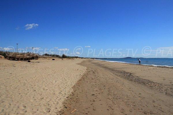 posto di soccorso della spiaggia La Redoute a Portiragnes