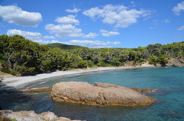 Photo de la plage de la Reine Jeanne - Bormes les Mimosas