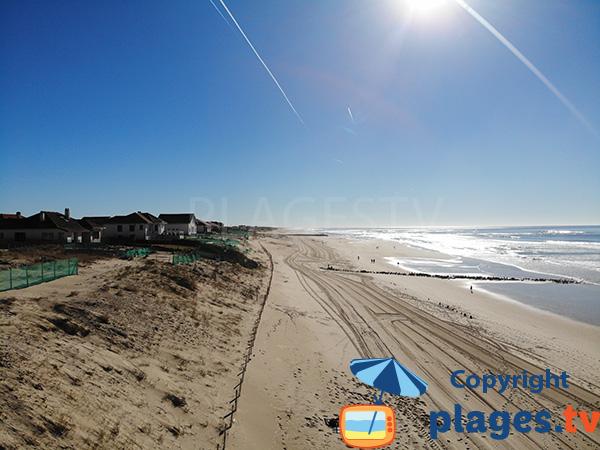 Environnement de la plage de Remember - Mimizan
