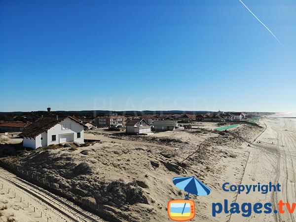 Maisons sur la dune de Mimizan