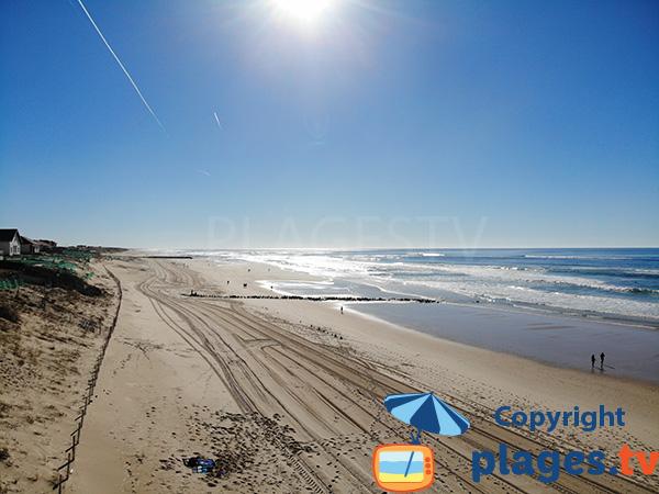 Photo de la plage de Remember à Mimizan