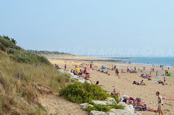Photo de la plage des Rémigeasse à Dolus d'Oléron