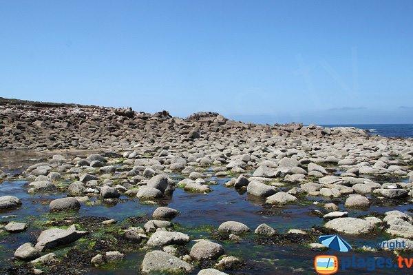 Gué entre les iles Grande et d'Aganton - Bretagne
