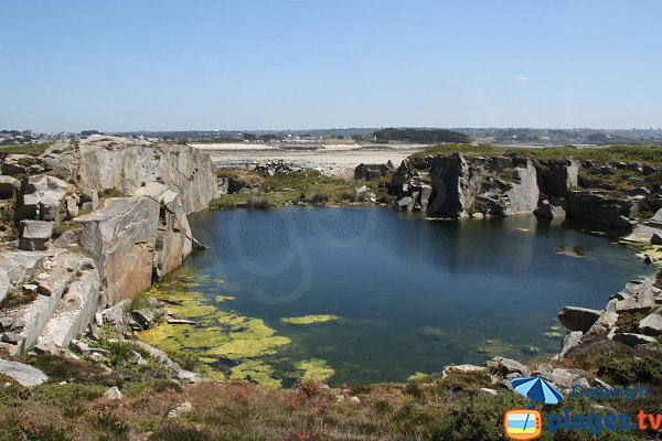 Ancienne carrière de l'ile d'Aganton - Pleumeur-Bodou