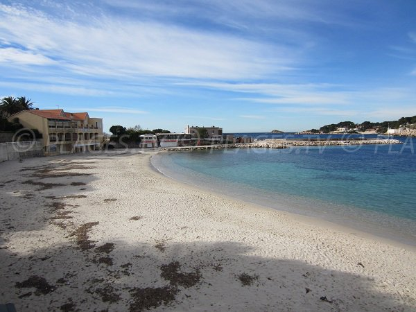 Bay of Renecros in Bandol