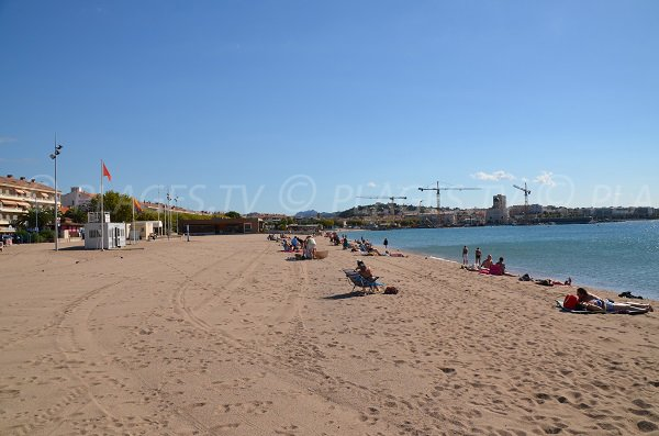 Photo of Republic beach in Fréjus - view on St Raphaël