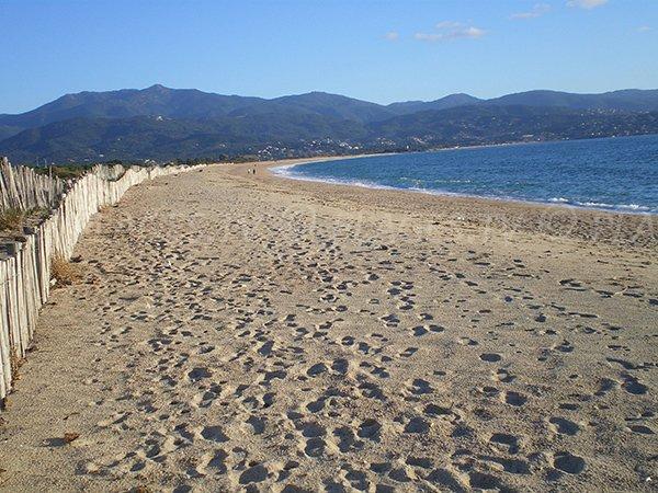 Beach in the gulf of Ajaccio
