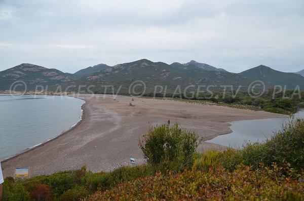 Photo de la plage de Riciniccia - Golfe de Galéria
