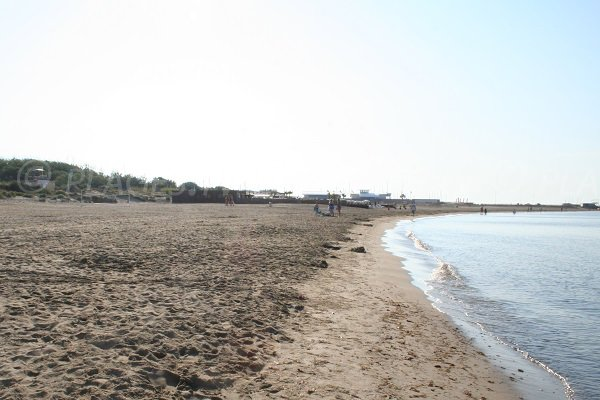 Richelieu beach in Cape d'Agde