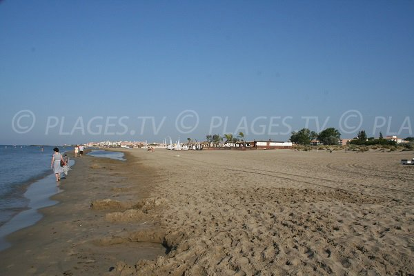 Foto spiaggia di Richelieu e vista Rochelongue - Cap d'Agde
