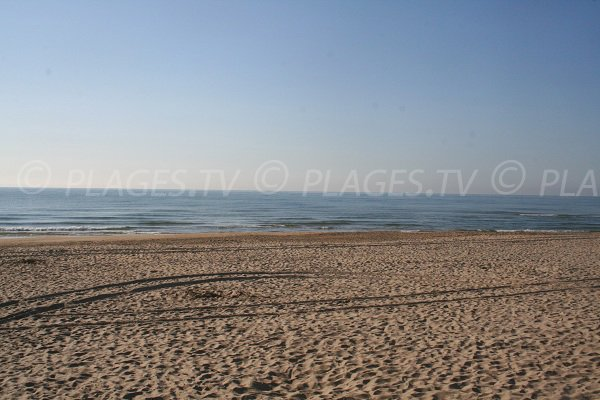 West beach of Marseillan