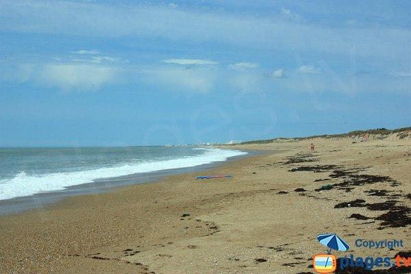 Photo de la plage de Riez à St Hilaire