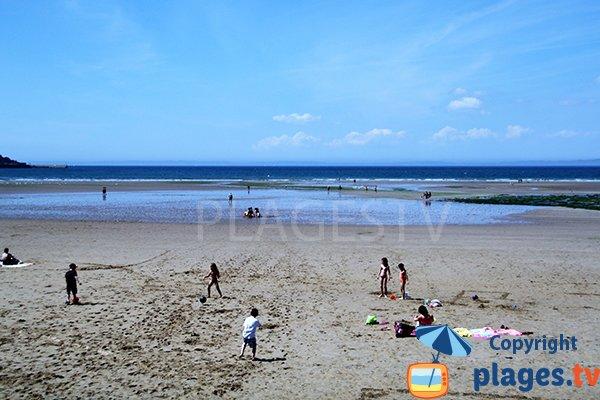 Plage Le Ris à marée basse - Douarnenez