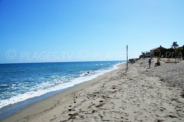 Riva Bella beach in Corsica