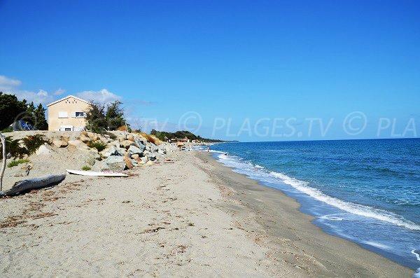 Photo of Riva Bella beach - Spa area - Corsica