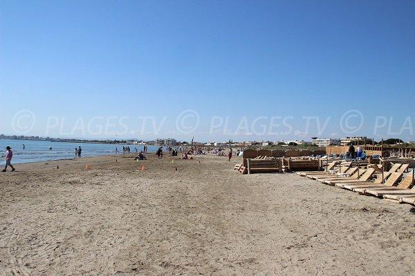 Private beaches in Grau du Roi