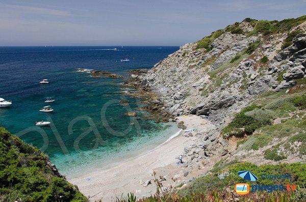Photo de la plage du Rix sur l'ile des Embiez