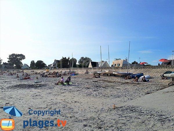 Environnement de la plage de Roaliguen à Sarzeau