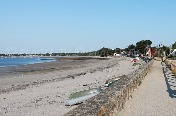 Photo de la plage du Roaliguen à Sarzeau
