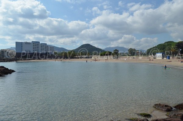 Robinson beach and Tanneron - Mandelieu