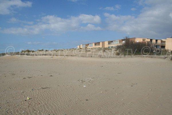 Hotel near the Marseillan beach
