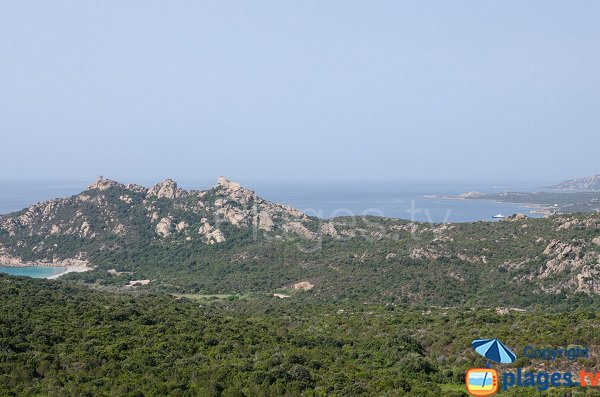 Roccapina in Corsica