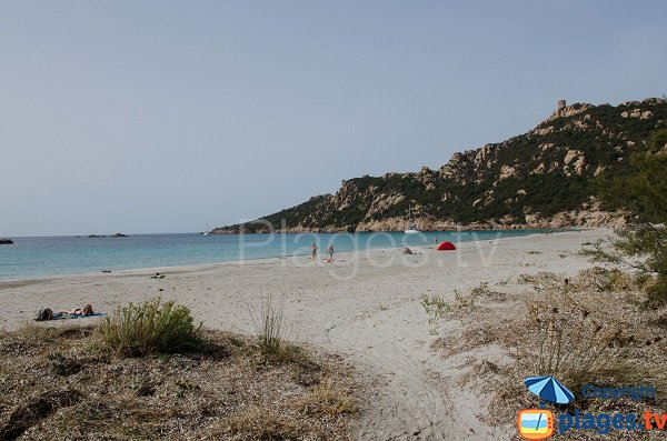 Spiaggia selvaggia a Sartène - Roccapina