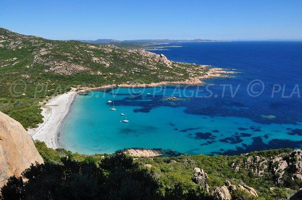 Foto della spiaggia di Roccapina a Sartène - Corsica