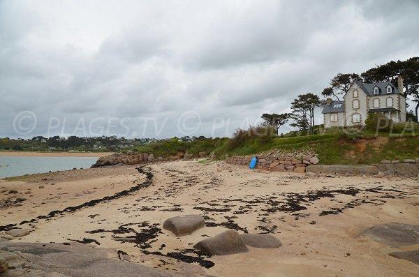 Photo de la plage de Roc'h Ascoat de Trébeurden