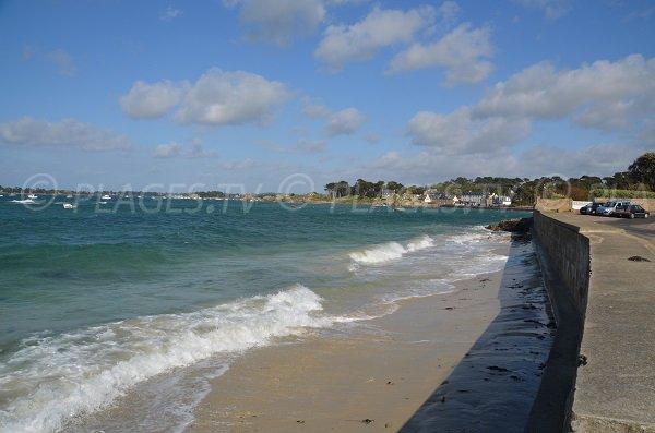 Photo de la plage de Rochanic à Port-Blanc - Bretagne