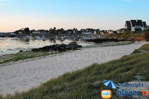 Photo de la plage de Rochard à Landunvez - Argenton