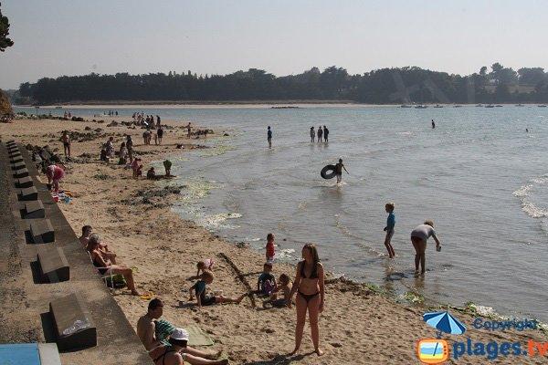 Photo de la plage de la Roche d'Argent à Plestin-les-Grèves
