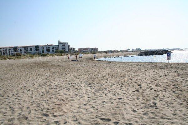 Rochelongue beach in Cape d'Agde