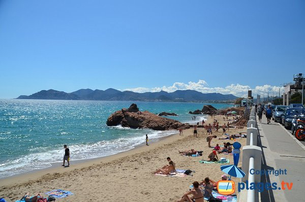 Photo of La Bocca beach in France