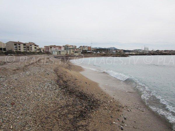 Spiaggia di sabbia monitorato a Six Fours