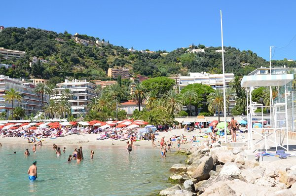 Private beach in Menton - Rondelli
