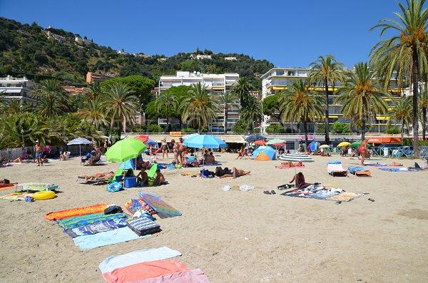 Spiaggia di sabbia a Mentone - Rondelli