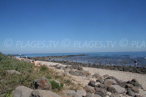 Spiaggia selvaggia di Cap d'Agde - Roquille