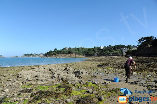 Rosais beach in St Malo - Brittany